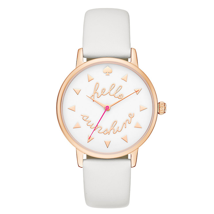 Kate Spade Metro Ladies' Rose Gold Tone Strap Watch - Product number 4832787
