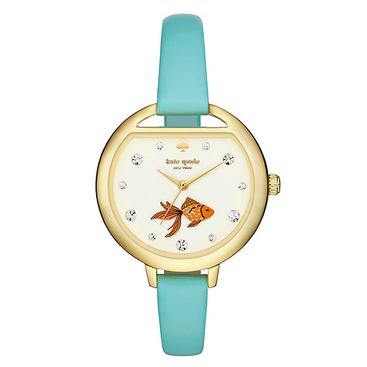 Kate Spade Novelty Fish Ladies' Gold Tone Strap Watch - Product number 4832922
