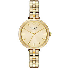 Kate Spade Holland Ladies' Gold Tone Strap Watch - Product number 4832965