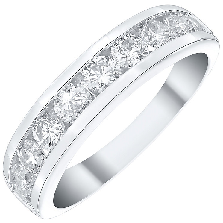 Platinum 1ct Diamond 10 Stone Ring - Product number 4835328