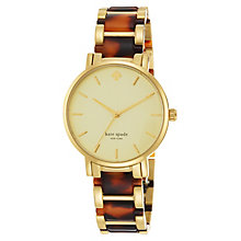 Kate Spade Gramercy Ladies' Gold Tone Bracelet Watch - Product number 4835476
