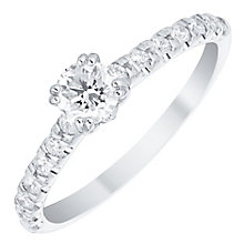 Platinum 0.50ct Diamond Solitaire Ring - Product number 4835611