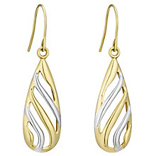 9Tt Curve Pear Drop Earrings - Product number 4836065