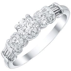 Three Stone Engagement Rings Diamond Rings Ernest Jones