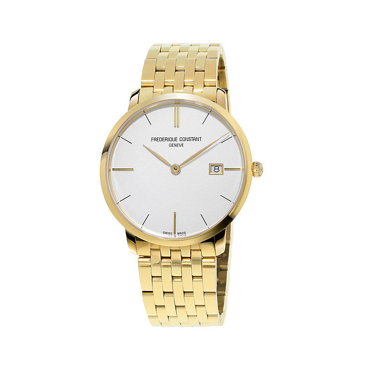 Frederique Constant Men's Gold Plated Bracelet Watch - Product number 4841794