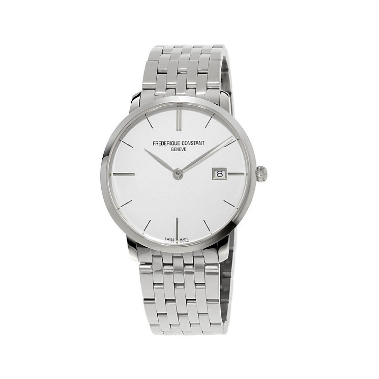 Frederique Constant Men's Stainless Steel Bracelet Watch - Product number 4841816