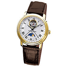 Frederique Constant Men's Gold Plated Strap Watch - Product number 4841832