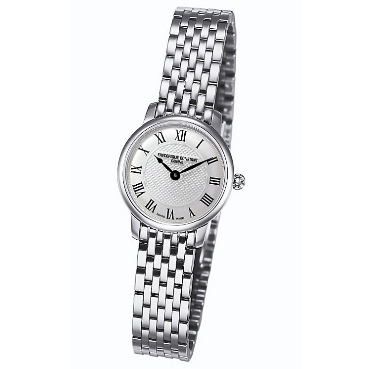 Frederique Constant Ladies' Stainless Steel Bracelet Watch - Product number 4841956