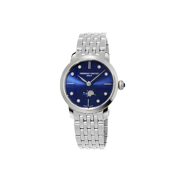 Frederique Constant Ladies' Stainless Steel Bracelet Watch - Product number 4842332