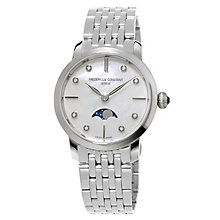 Constant Ladies' Stainless Steel Stone Set Bracelet Watch - Product number 4842553