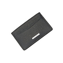 Hugo Boss Men's Black Leather Cardholder - Product number 4843029