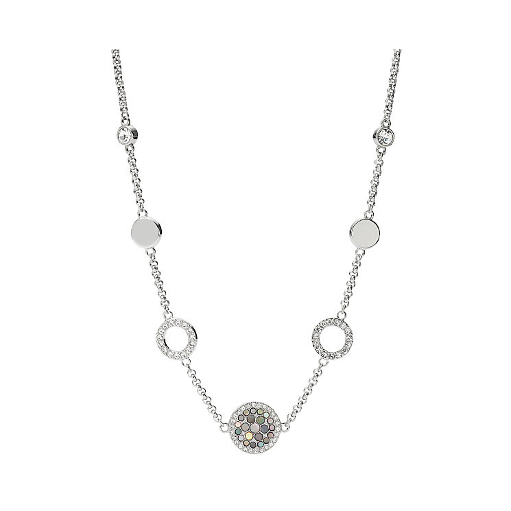 Fossil Stainless Steel Glitz Necklace - Product number 4843061