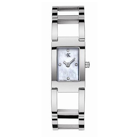 ck Dress ladies' stainless steel diamond watch