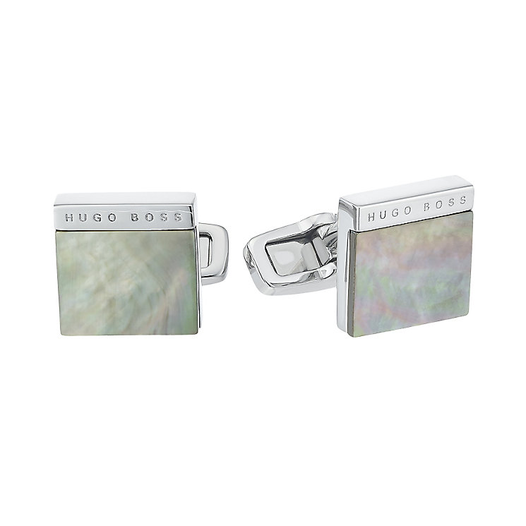Hugo Boss Men's Stainless Steel Cufflinks - Product number 4843770