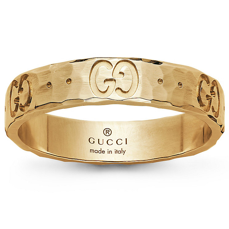 Gucci 18ct Yellow Gold Icon ring Size O - Product number 4845617