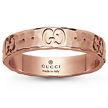 Gucci 18ct  Rose Gold icon ring - Product number 4845625