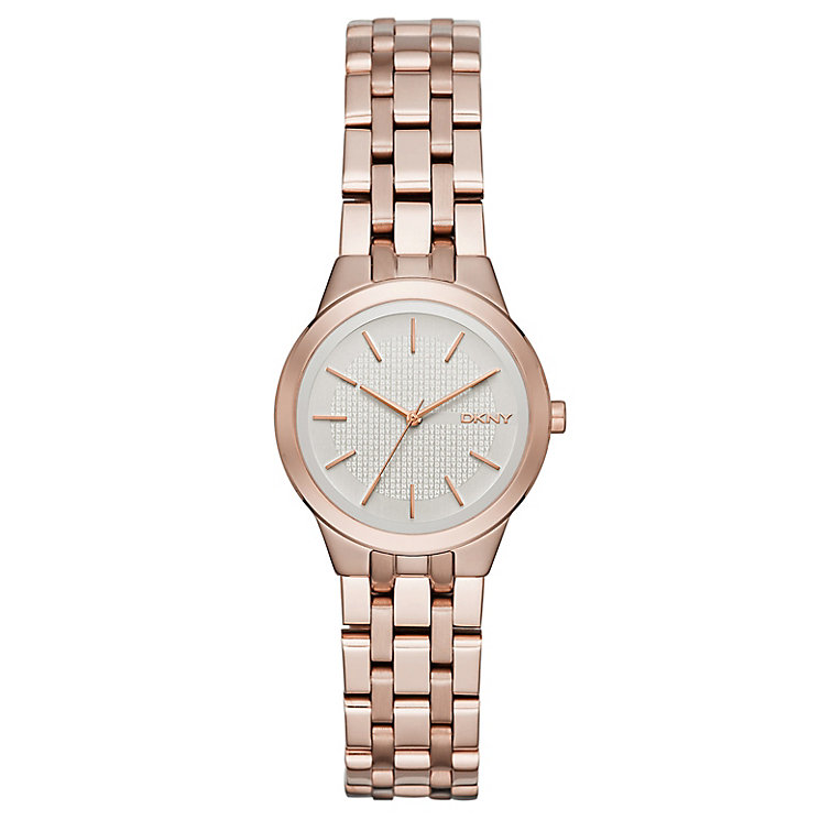 DKNY Ladies' Rose Gold Tone Bracelet Watch - Product number 4847881