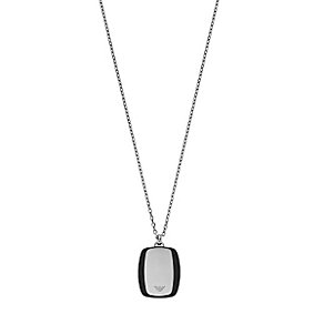 Emporio Armani Men's Stainless Steel Necklace - Product number 4848233