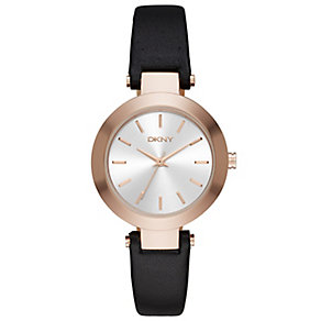DKNY Ladies' Rose Gold Tone Strap Watch - Product number 4848349