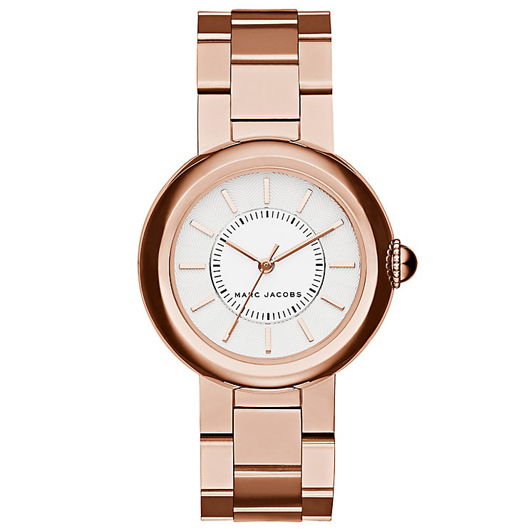 Marc Jacobs Ladies' Rose Gold Tone Bracelet Watch - Product number 4849140