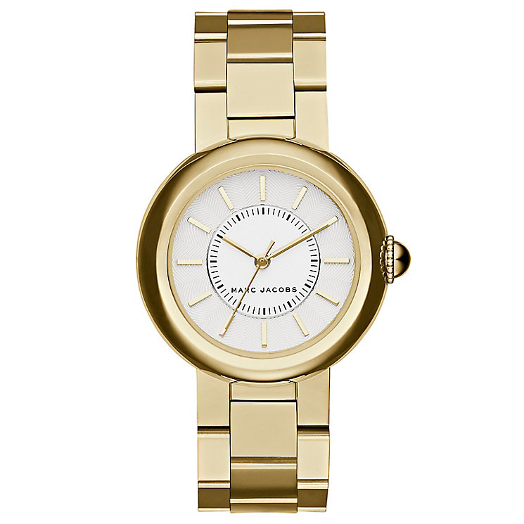 Marc Jacobs Ladies' Gold Tone Bracelet Watch - Product number 4849167