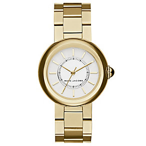 Marc Jacobs Ladies' Gold Tone Bracelet Watch - Product number 4849167