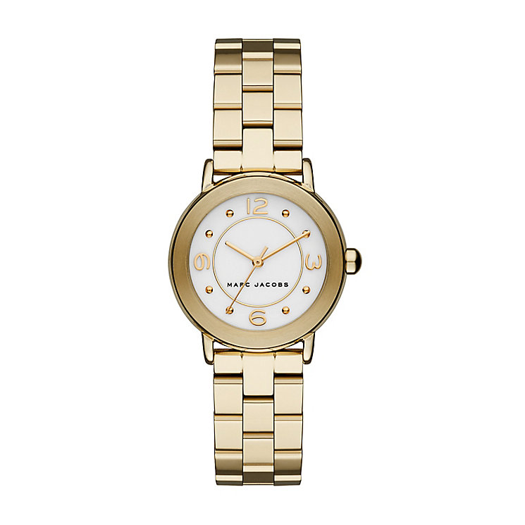 Marc Jacobs Riley Ladies' Gold Tone Bracelet Watch - Product number 4849221