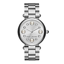 Marc Jacobs Dotty Stainless Steel Stone Set Bracelet Watch - Product number 4849256