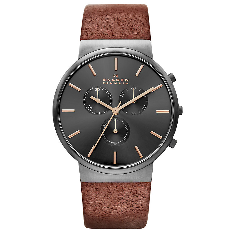 Skagen Anita Men's Stainless Steel Strap Watch - Product number 4856554