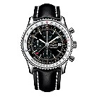 Breitling Navitimer World men's black strap watch - Product number 4866096