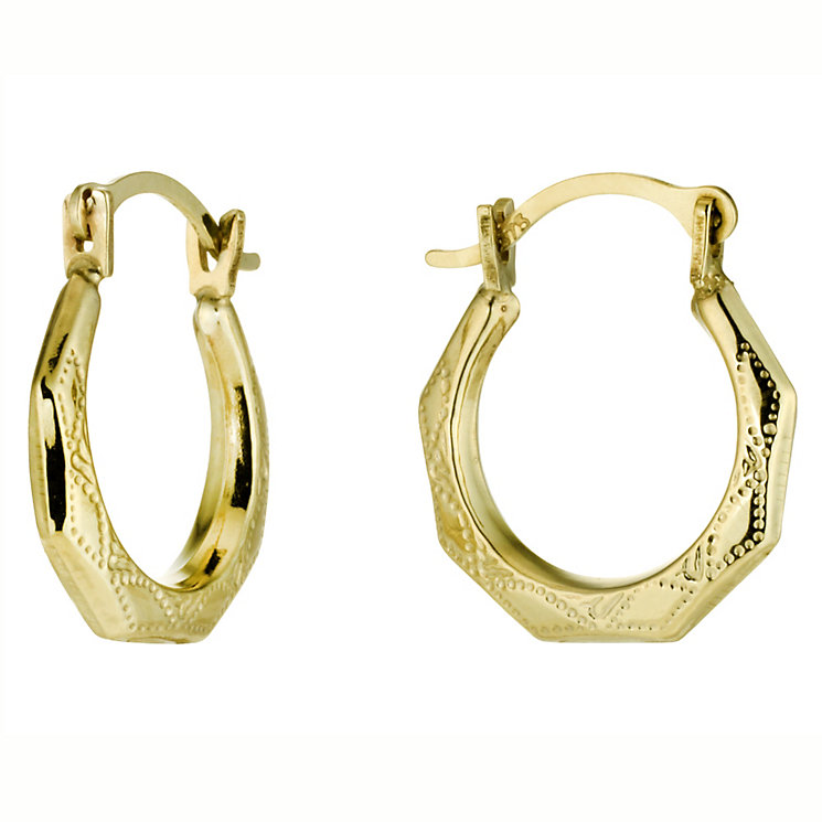 Gold Creole Earrings - Product number 4878299