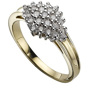 9ct Gold 1/4 Carat Ring - Product number 4884604