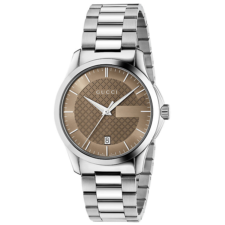 Gucci G-Timeless Men's Stainless Steel Bracelet Watch - Product number 4891945