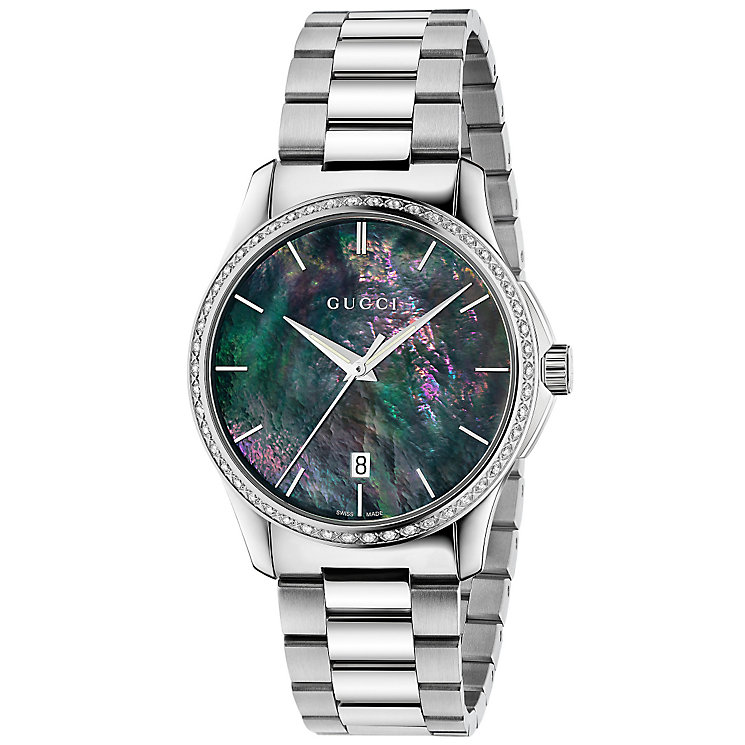 Gucci G-Timeless Men's Stainless Steel Bracelet Watch - Product number 4892046