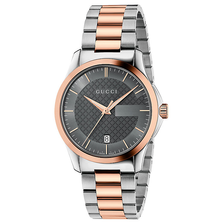 Gucci Men's Two Colour Bracelet Watch - Product number 4893999