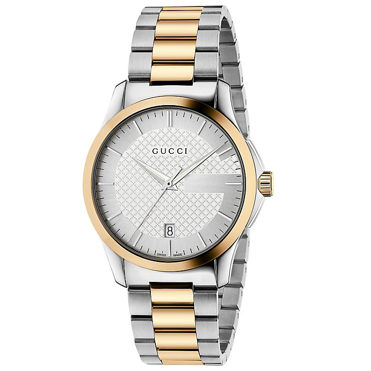 Gucci Men's Two Colour Bracelet Watch - Product number 4894073