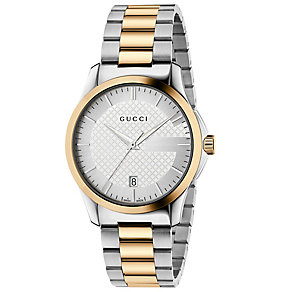 Gucci Men's Two Colour Bracelet Watch - Product number 4894073