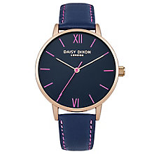 Daisy Dixon Annie Ladies' Blue Leather Strap Watch - Product number 4896807