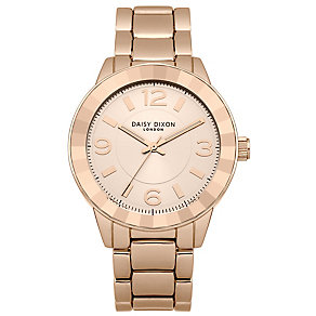 Daisy Dixon Lara Ladies' Rose Gold-Plated Bracelet Watch - Product number 4896823