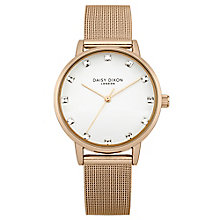 Daisy Dixon Olivia Stone Set Rose Gold-Plated Bracelet Watch - Product number 4896955