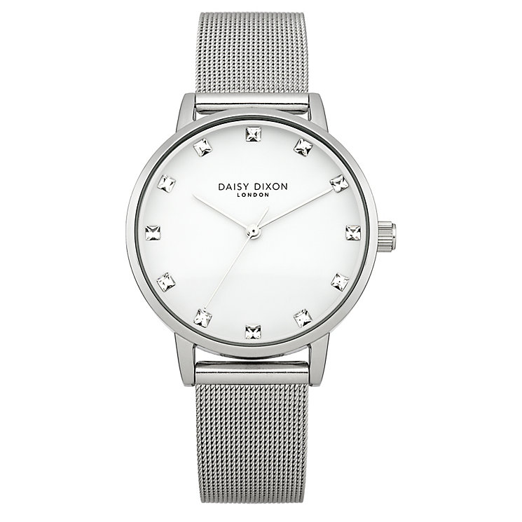 Daisy Dixon Olivia Stone Set Stainless Steel Bracelet Watch - Product number 4896971
