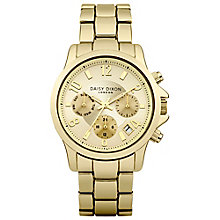 Daisy Dixon Cara Ladies' Gold Dial Watch - Product number 4897218
