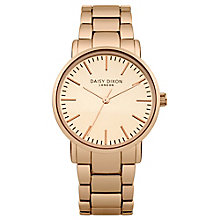 Daisy Dixon Kate Ladies' Rose Gold-Plated Bracelet Watch - Product number 4897234