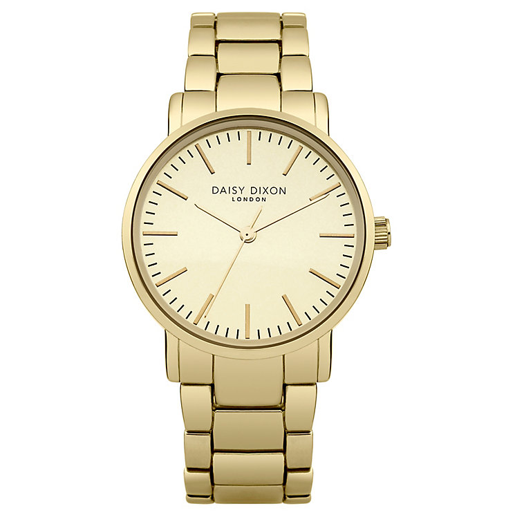 Daisy Dixon Kate Ladies' Gold-Plated Bracelet Watch - Product number 4897250