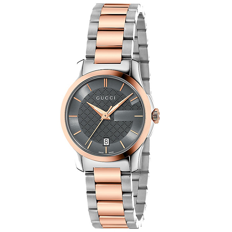 Gucci Ladies' Two Colour Bracelet Watch - Product number 4899210