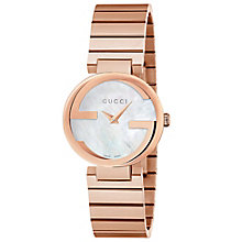 Gucci Ladies' Rose Gold PVD Bracelet Watch - Product number 4899512