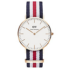 Daniel Wellington Canterbury Ladies' NATO Strap Watch - Product number 4899555