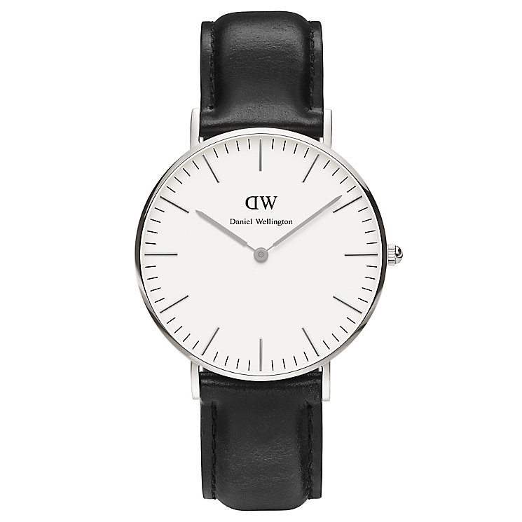 Daniel Wellington Sheffield Ladies' Black Leather Watch - Product number 4899946
