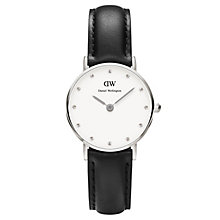 Daniel Wellington Sheffield Ladies' Black Leather Watch - Product number 4901002