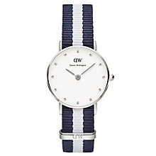 Daniel Wellington Glasgow Ladies' NATO Strap Watch - Product number 4901312